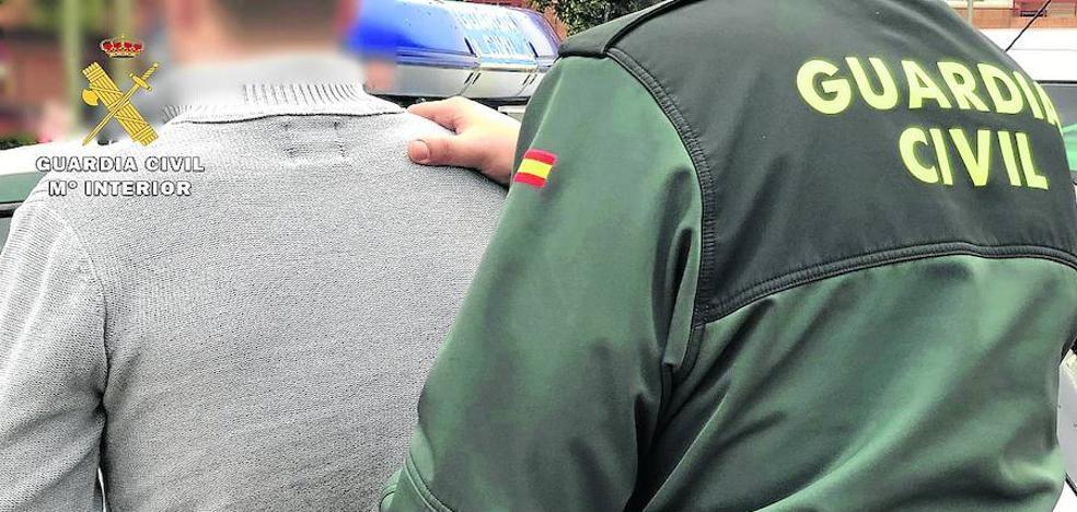 La Guardia Civil detiene a un vecino de Haro como autor de diecisiete robos