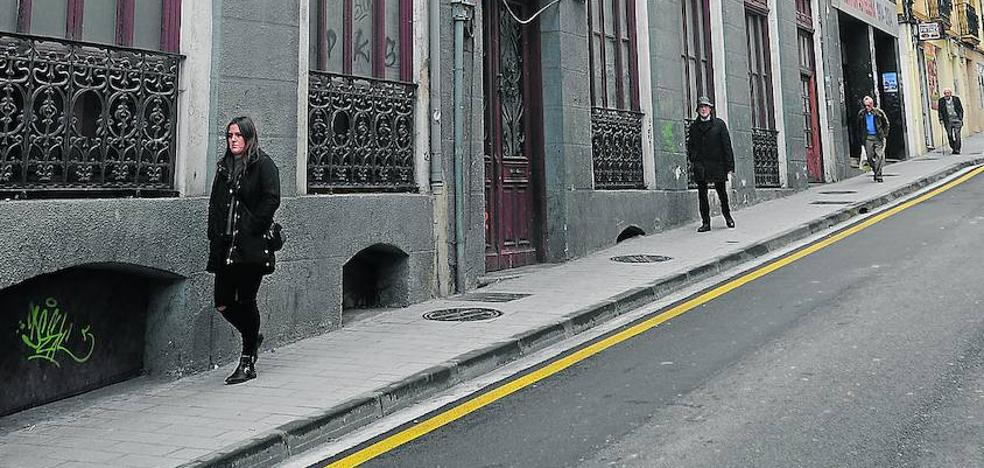 Andretxea se trasladará a las casas vacías del frontón Astelena, en Isasi