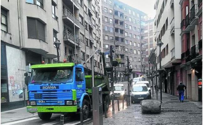 Ermua se plantea trasladar y ampliar las plazas de OTA gratuita en sus calles