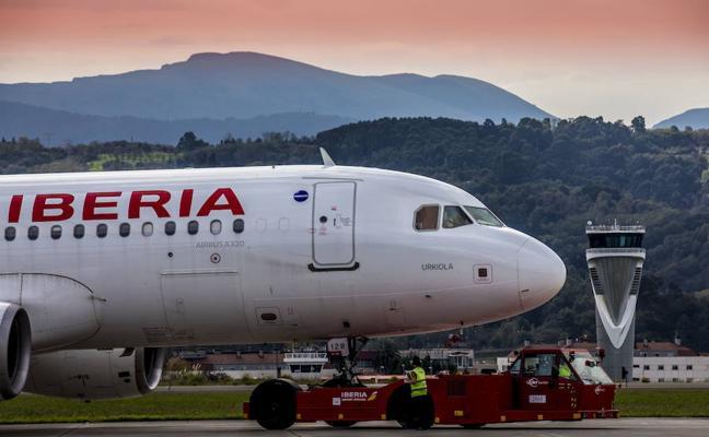 Iberia operará Madrid-Bilbao los fines de semana