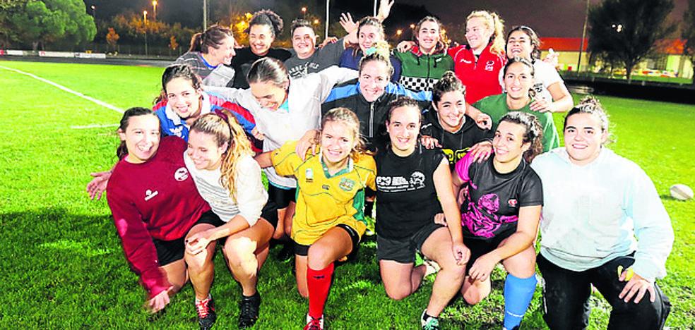 El Getxo Rugby femenino visita al Pozuelo en busca de puntos