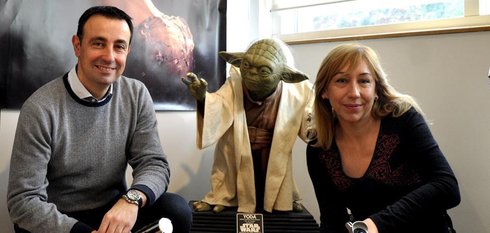 Las naves de Star Wars toman tierra en Portugalete