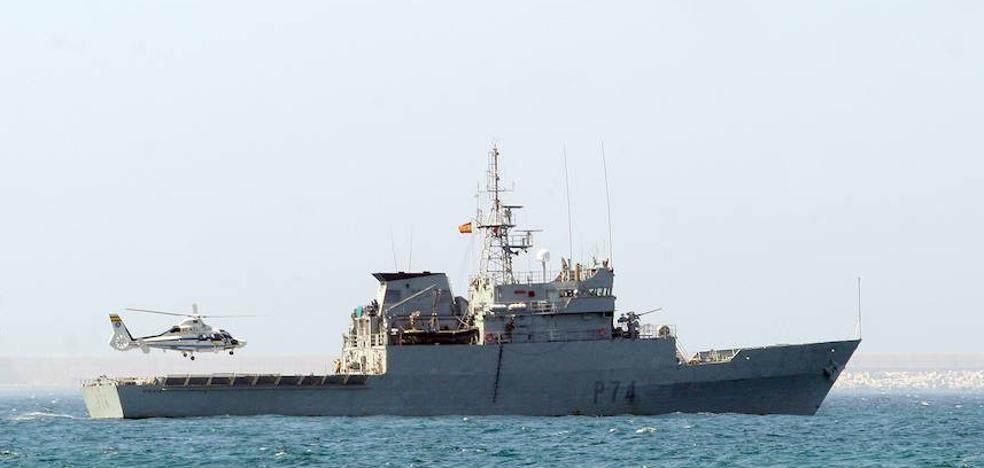 El patrullero de la armada 'Atalaya' atraca mañana en el muelle de Getxo