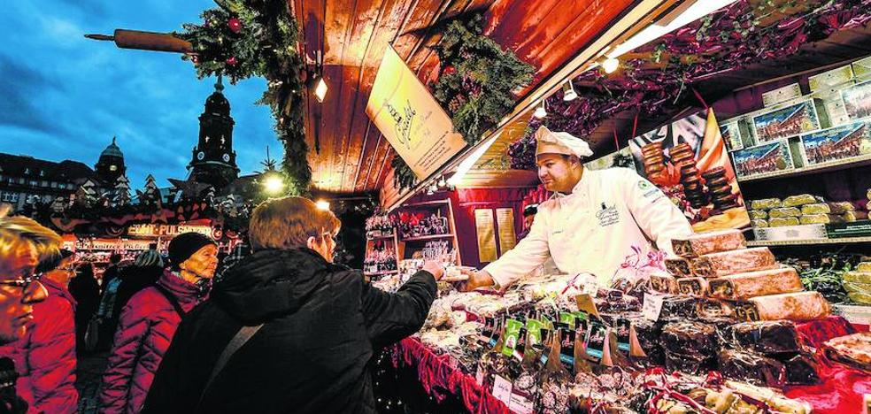 Vitoria estrenará un mercado navideño que pretende consolidar «al estilo centroeuropeo»