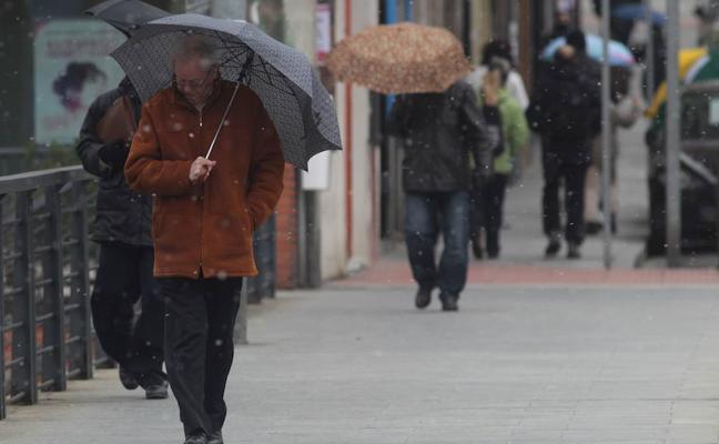 Euskadi despedirá el puente con avisos por nieve y viento