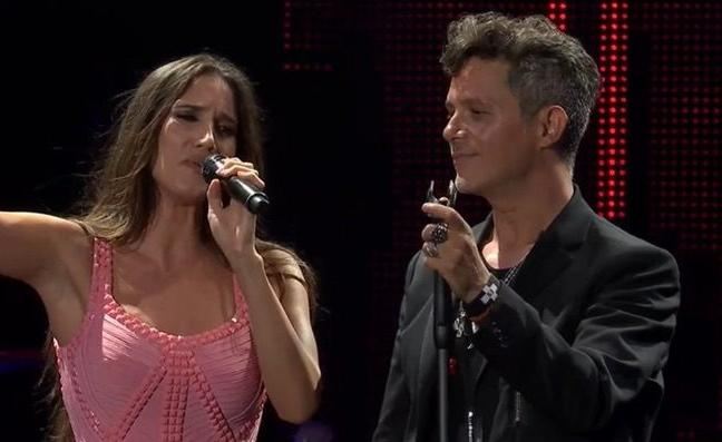 El concierto de Alejandro Sanz se lleva a la audiencia