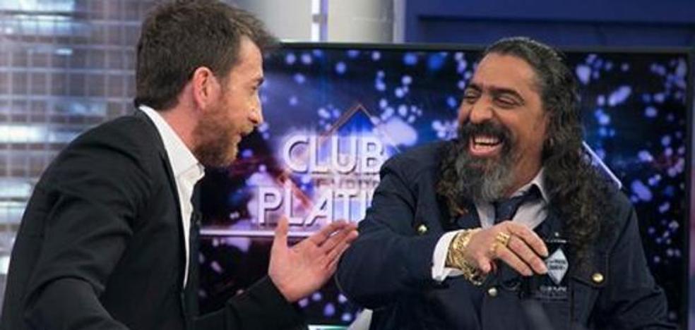 Diego 'El Cigala' la vuelve a liar en 'El Hormiguero'