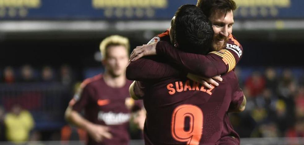 El Barça sale del purgatorio