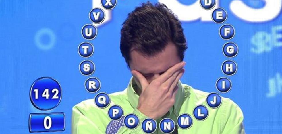 Un concursante rompe a llorar de la emoción en 'Pasapalabra'