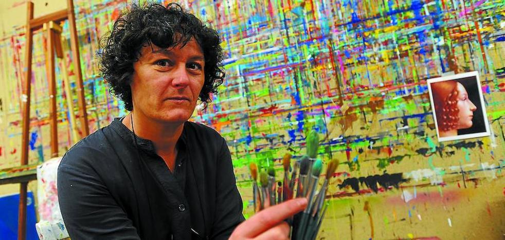 «La pintuterapia permite crecer como persona por la vía del arte»