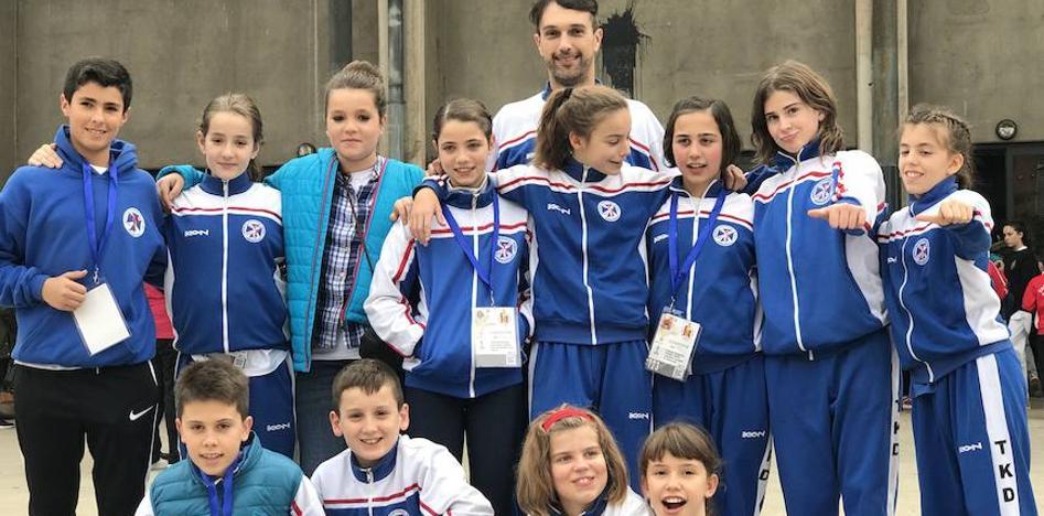 Garriko, The Masters y Urreta suman once medallas en el nacional de taekwondo