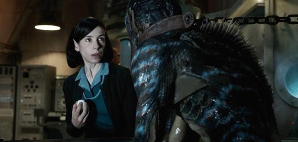 «La forma del agua» y Guillermo del Toro enamoran a los Globos de Oro