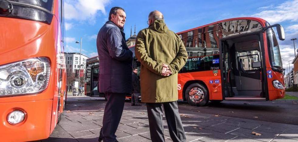 Bilbobus presenta dos nuevos vehículos eléctricos