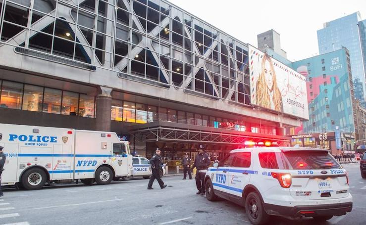 La explosión en el metro de Manhattan, en imágenes