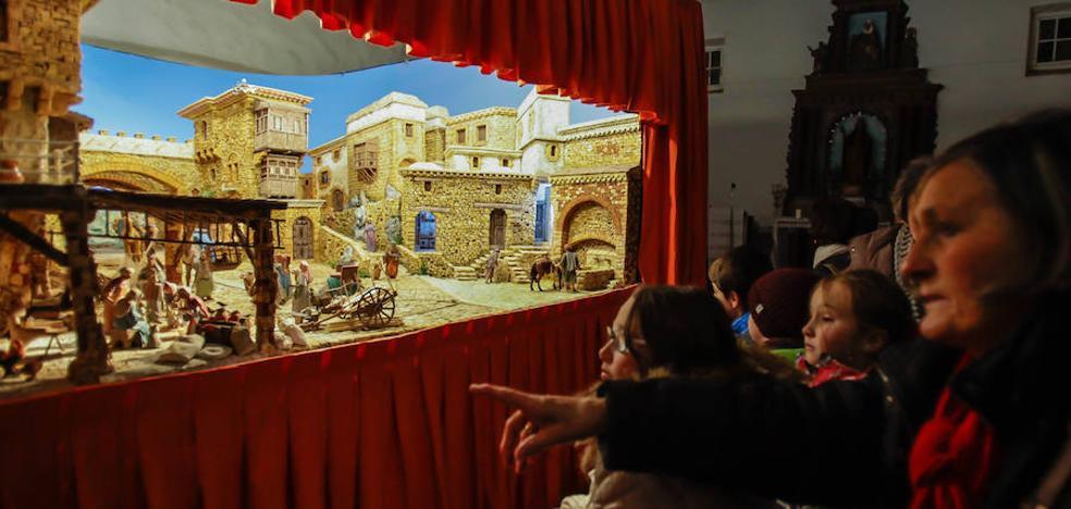 Gernika exhibe un belén gigante en Santa Lucía