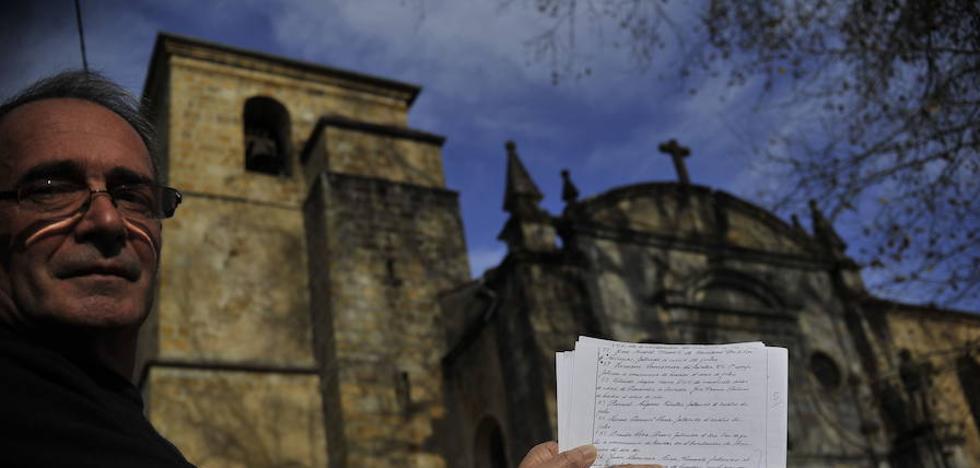 Los primeros nombres de la 'lista de Larrinoa'