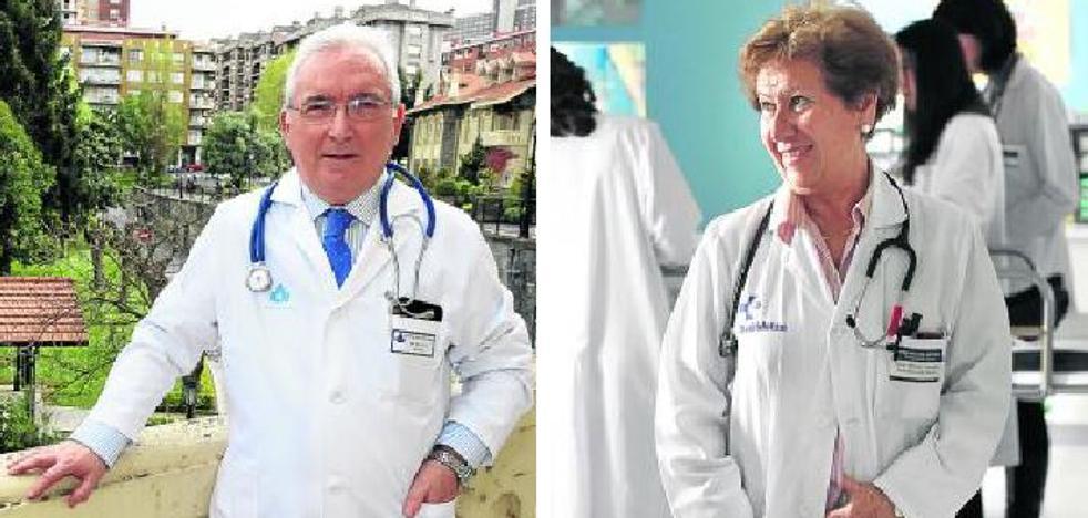 Dos médicos de la comarca, premiados a nivel nacional