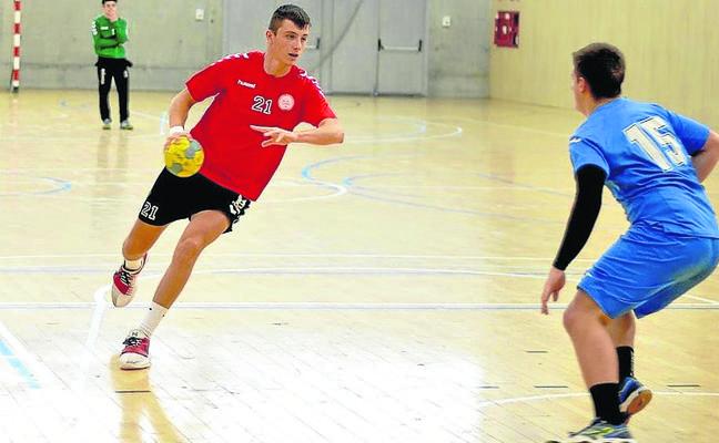 Niklas Ramis, con la selección española