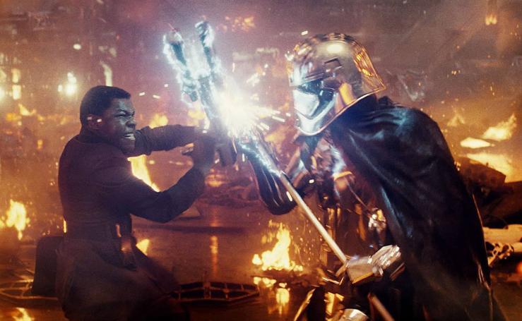 Las mejores imágenes del adelanto de 'Star Wars VIII: Los últimos jedi'.