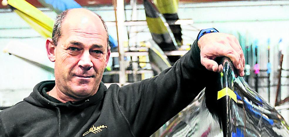 Eduardo Zubeldia: «Queremos más apoyo de la afición en las regatas»