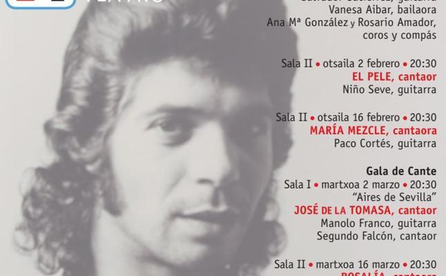 XXII Viernes Flamencos: Cante por todo lo alto