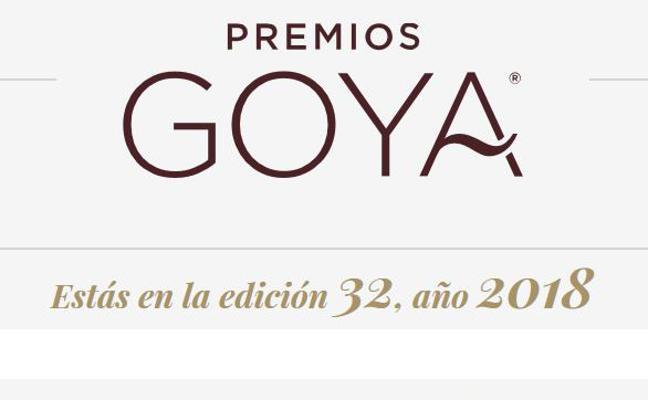 Premios Goya 2018: fecha y horario de la gala
