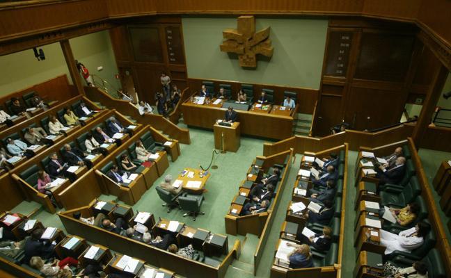 El Parlamento vasco aprueba las enmiendas del PP a los Presupuestos
