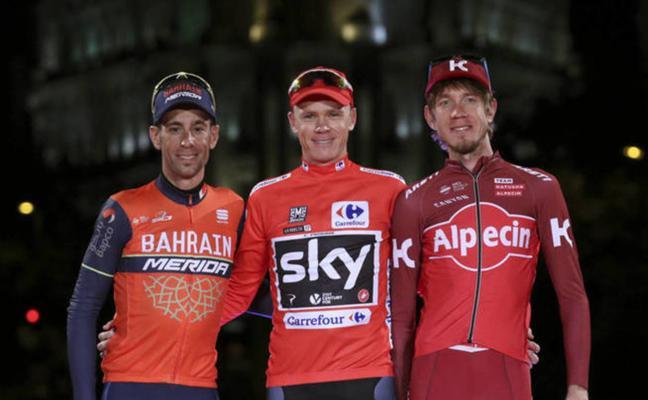 Nibali: «Llovía en España cuando Froome dio positivo, es difícil de creer que tuviera asma»