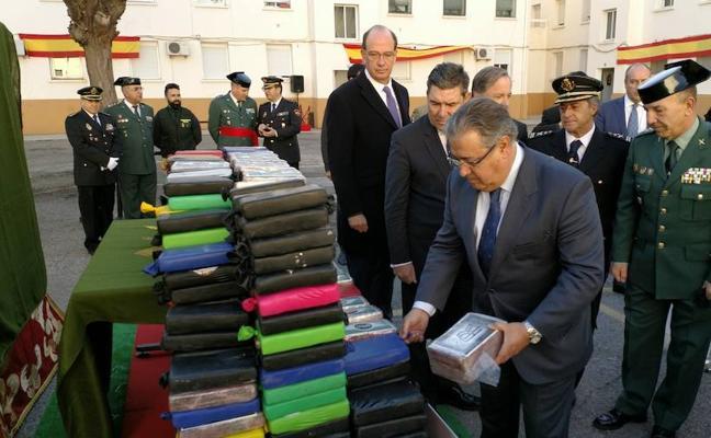 Zoido anuncia el tercer gran golpe contra el narcotráfico en sólo 15 días