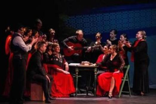 La ópera flamenca 'Debla' se representará a lo grande en Abadiño el sábado