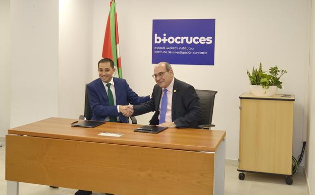 La BBK entra en el órgano de dirección del Instituto de Investigación Sanitaria BioCruces
