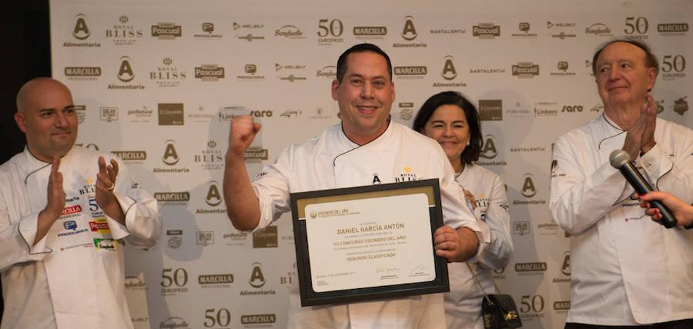 Daniel García, del Aboiz en Garai, concurre a la final del concurso de cocinero del año