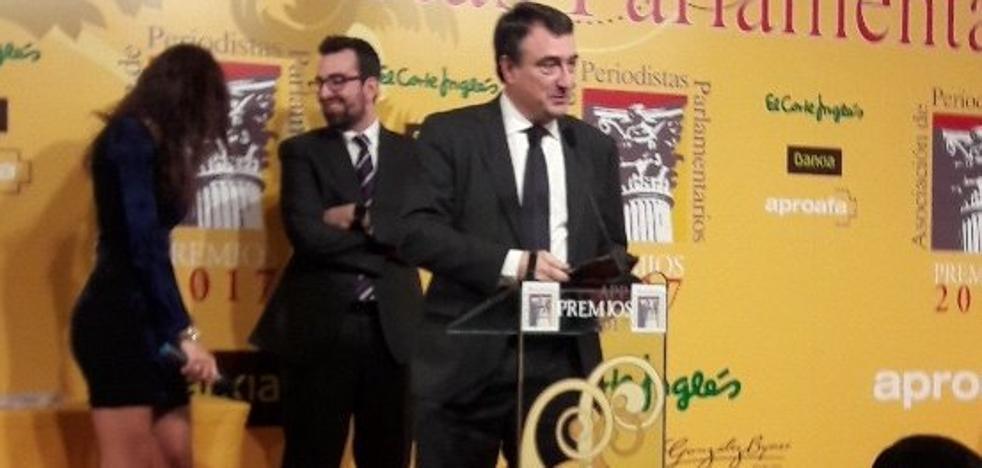 La noche del PNV en los premios parlamentarios