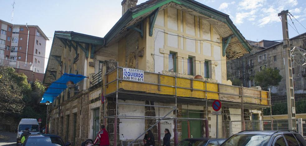 El Ayuntamiento de Basauri denuncia el «abandono» de la estación de Bidebieta