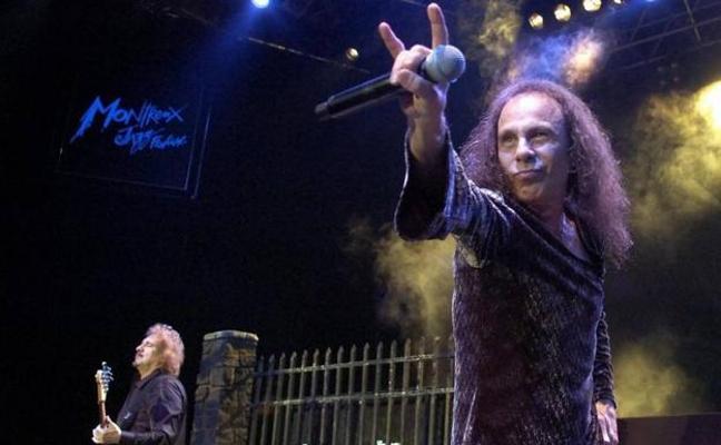 25 euros por ver un holograma de Ronnie James Dio en concierto