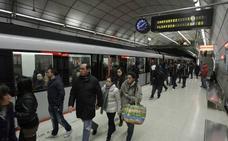 La Línea 3 del metro abrirá de madrugada en Nochebuena y sus empleados cobrarán 550 euros