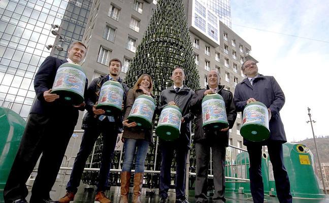 Una campaña para reciclar vidrio y ayudar a Save the Children