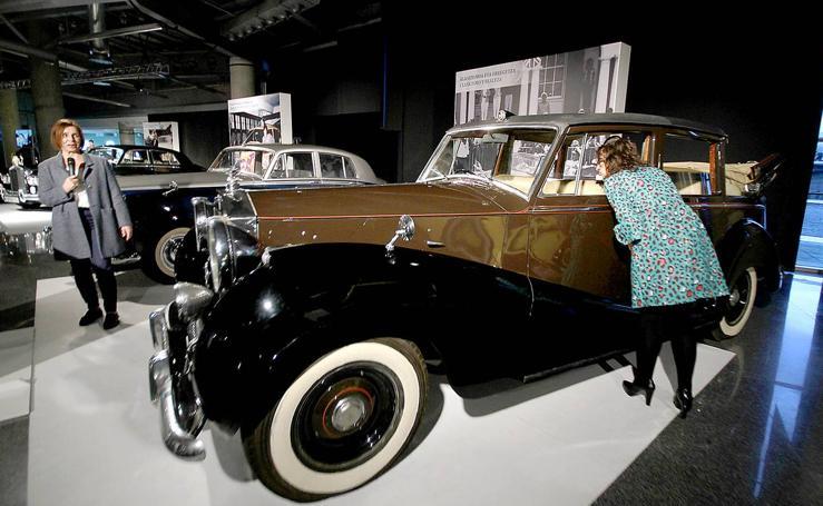 Todos los modelos de Rolls-Royce de 1910 a 1998, expuestos en Bilbao