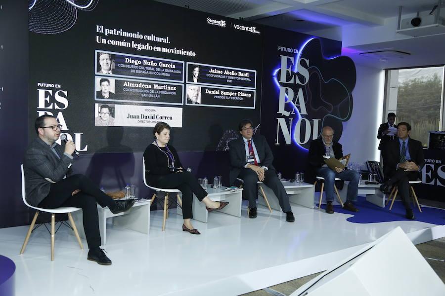 Asistentes a las jornadas de 'Futuro en español' en Bogotá