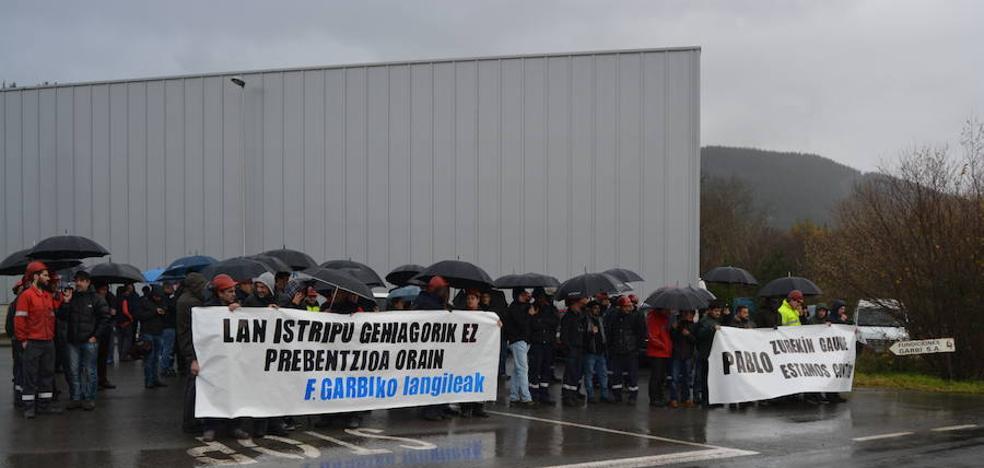 La plantilla de Fundiciones Garbi solicita mayores medidas de prevención