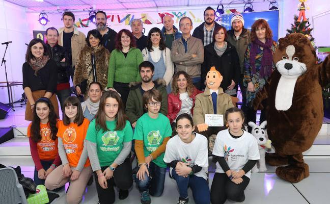 El patrimonio lingüístico de la comarca se reivindica en la Feria del Libro de Galdakao