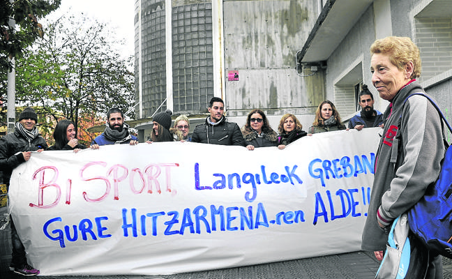 Erandio comienza a devolver cantidades a los afectados por la huelga de los polideportivos