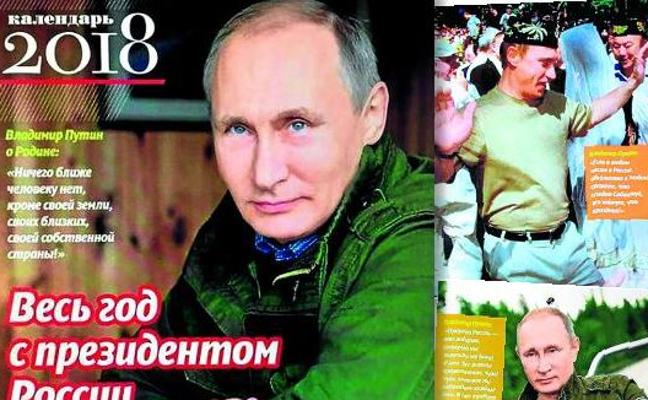 Putin arrasa con su calendario