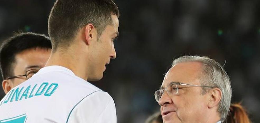 Cristiano le echa otro pulso a Florentino