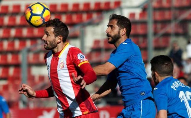 Girona mira a Europa tras el gol de Stuani ante el Getafe