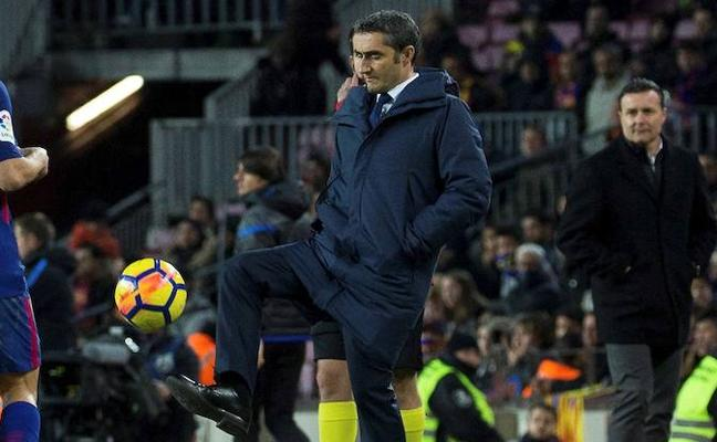 Valverde: «Si apuntásemos al palo no acertaríamos tanto»