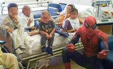 Spiderman contra el cáncer