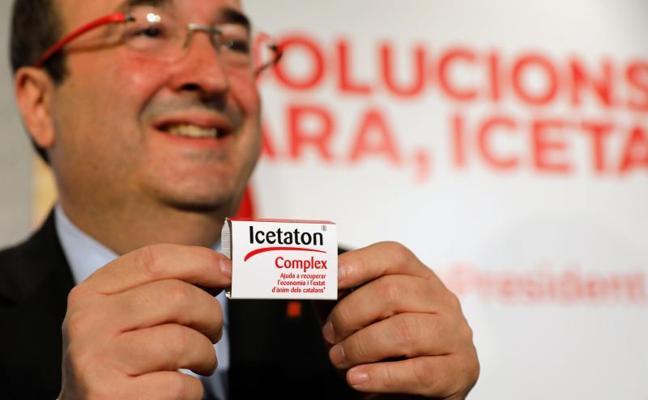 Iceta lanza el 'Icetaton' «para recuperar la economía catalana»