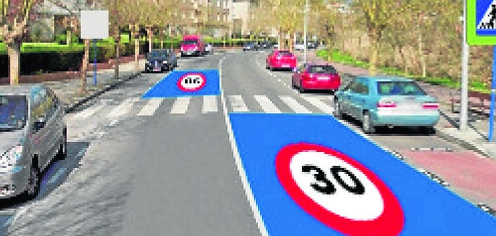 Sopela convierte Olabide en «zona 30»