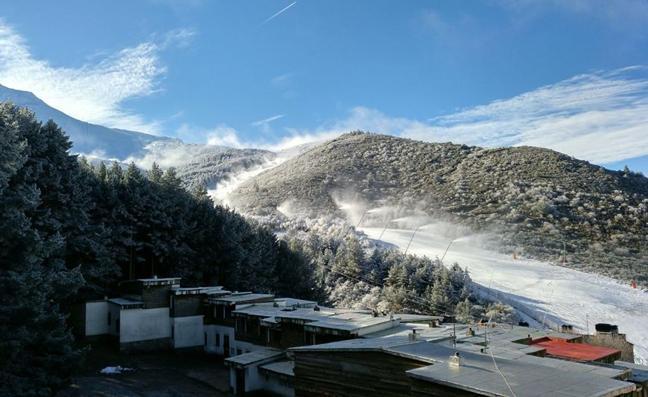 ¿Es posible esquiar en Navidad en el Sistema Central?
